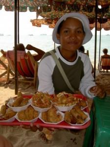 Thai beach vendors