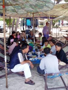 Thai family vacation
