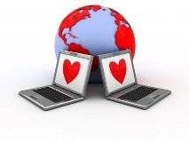 Use the internet to find love